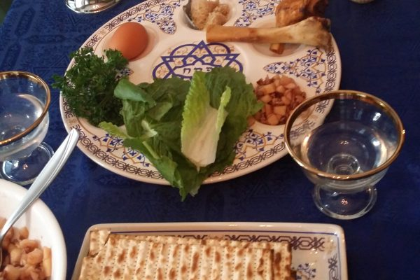 All of the Passover Seder Elements - Tzur Yisrael / Rock of